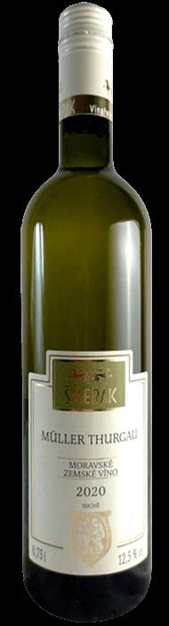 Moravské víno Muller Thurgau